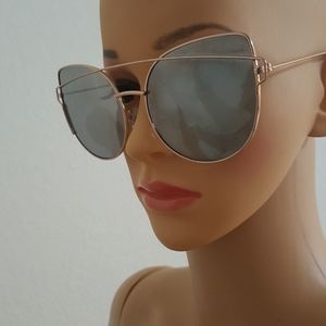 Accessories - Cat Eyes mirror Flat Lenses